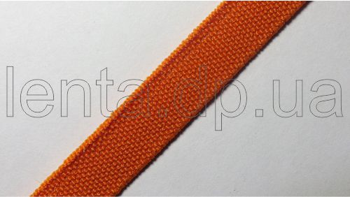 10мм Лента эластичная (резинка) р.3098 оранжевая