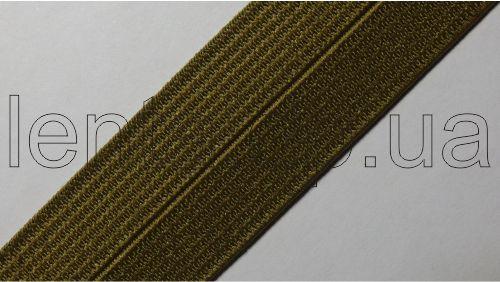 23мм Лента эластичная (резинка) р.3194 хаки