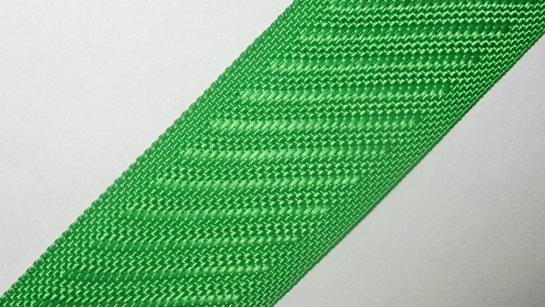 35мм Лента для отделки матрасов р.3388 зеленая