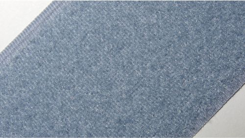 50мм Лента контактная (липучка) серая