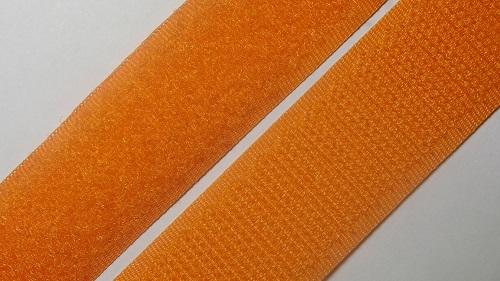 25мм Лента контактная (липучка) оранжевый