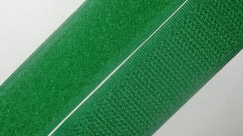 25мм Лента контактная (липучка) зеленая