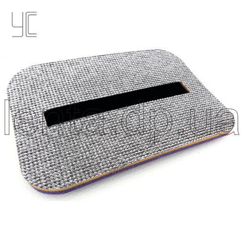 Коврик-сидушка КС118 390х285х16мм фольгированая