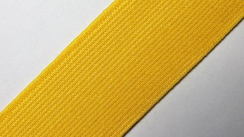 30мм Лента эластичная (резинка) р.2822  желтая