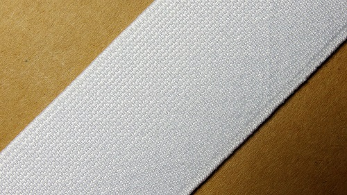35мм Лента эластичная (резинка) р.3072 белая