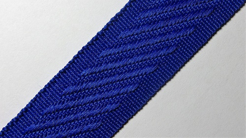 24мм Лента окантовочная р.3134 синяя