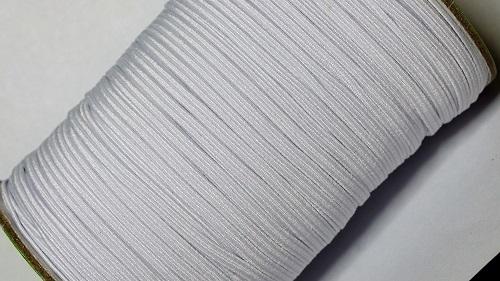 03 Лента эластичная (резинка), 100м, белая