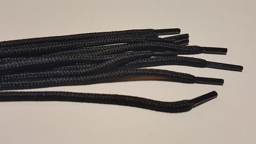 №5 4,0мм Шнурок обувный черный 90см