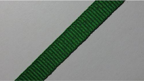 10мм Лента окантовочная репсовая р.2599, зеленая
