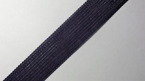 18мм Лента окантовочная вязаная лямовка) т. синяя 18-200