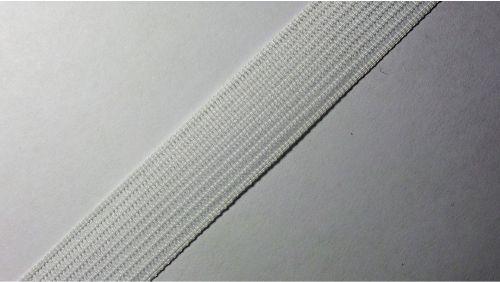 18мм Лента окантовочная вязаная лямовка) белая 18-200