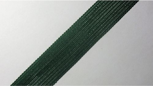 18мм Лента окантовочная вязаная лямовка) зеленая 18-200