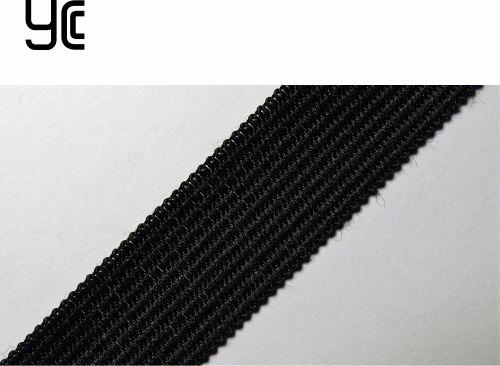 18мм Лента окантовочная вязаная лямовка) черная 18/315