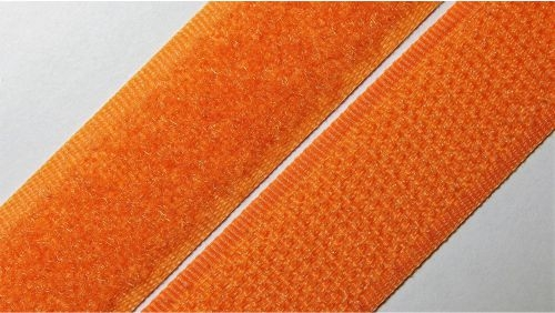 20мм Лента контактная (липучка) оранжевая