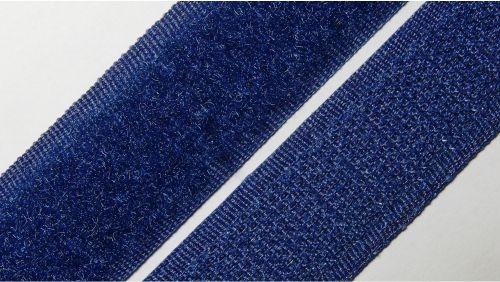 20мм Лента контактная (липучка) синяя