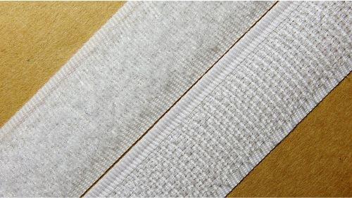 20мм Лента контактная (липучка) белая