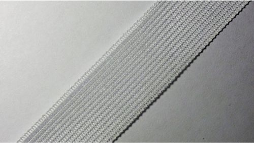 23мм Лента окантовочная вязаная лямовка) белая 23-210