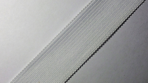 23мм Лента окантовочная вязаная лямовка) белая 23-320