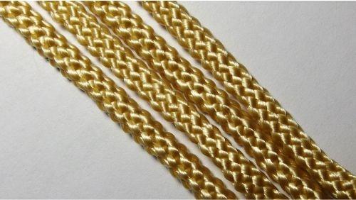Шнур плетеный без наполнителя р.2330 бежевый
