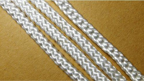 Шнур плетеный без наполнителя р.2330 белый