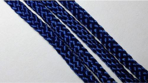 Шнур плетеный без наполнителя р.2330 т.синий