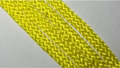 Шнур плетеный без наполнителя р.2330 лимонный