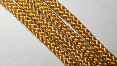 Шнур плетеный без наполнителя р.2330 т.бежевый