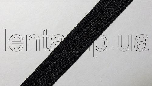 """10мм Лента """"кант"""" (бортик) р.2403 черный"""