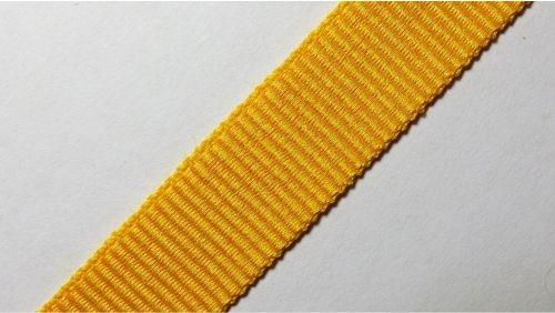 15мм Лента окантовочная репсовая р.2467 желтая