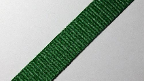 15мм Лента окантовочная репсовая р.2467 зеленая