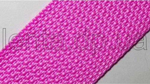 40мм Лента ременная р.2534 розовая, п/п