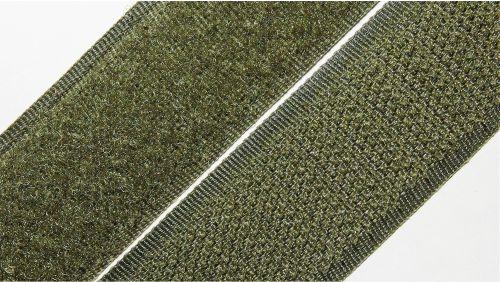 25мм Лента контактная (липучка) хаки