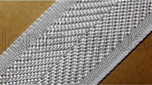 40мм Лента для отделки матрасов р.2698 белая (40мм)