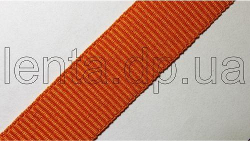 20мм Лента окантовочная репсовая р.2744 оранжевая