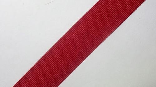20мм Лента репсовая р.2902 красная