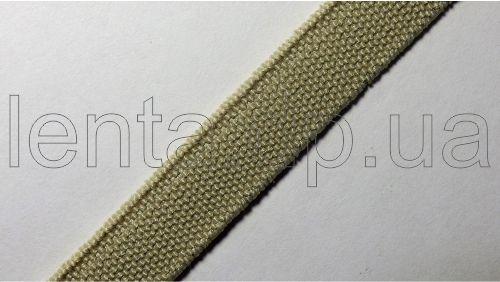 10мм Лента эластичная (резинка) р.3098 бежевая
