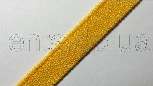 10мм Лента эластичная (резинка) р.3098 желтая
