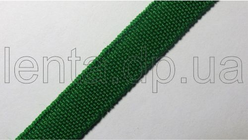 10мм Лента эластичная (резинка) р.3098 зеленая