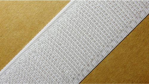 30мм Лента контактная (липучка) белая