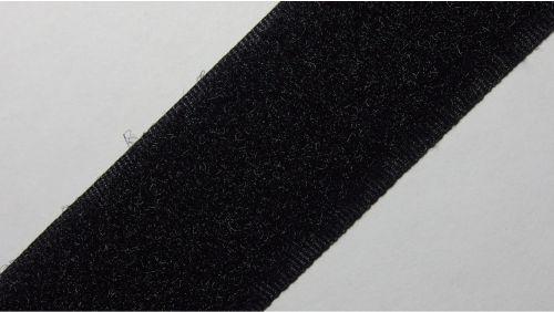 30мм Лента контактная (липучка) черная