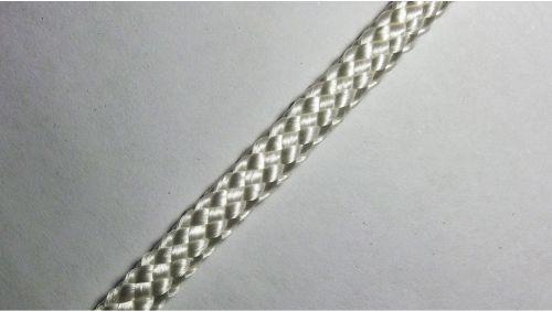 Шнур плетеный с наполнителем р.3104 белый