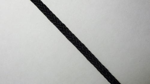 Шнур плетеный без наполнителя р.3136 черный