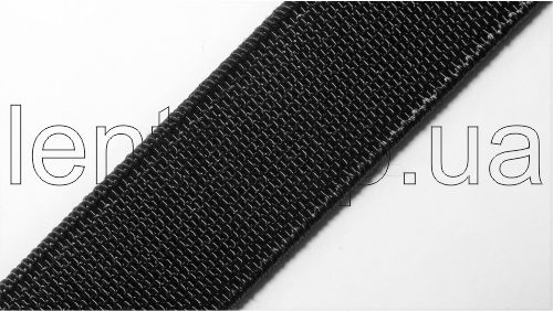 20мм Лента эластичная (резинка) Полиамид р.3188 черная
