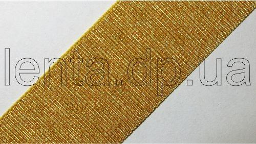 30мм Лента окантовочная люрекс р.3192 золото