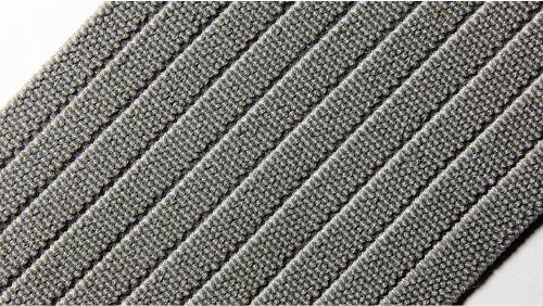 60мм Лента эластичная (резинка) р.3214 св.серая