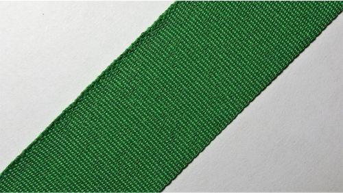 25мм Лента окантовочная репсовая р.3320 зеленая