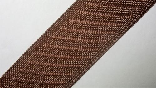 35мм Лента для отделки матрасов р.3388 коричневая