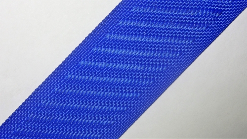 35мм Лента для отделки матрасов р.3334 синяя