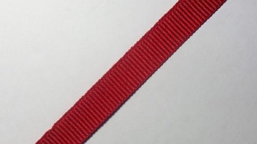 12мм Лента репсовая р.3444 красная