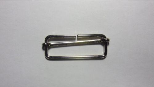 50мм Пряжка металлическая 4191 никель
